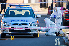 2015-10-08 Forensic investigations following police shooting in Queens Park