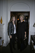 Anouska Beckwith and her mother Tamara Beckwith, Tea party to celebrate  the opening of the Buccellati  shop in Albermarle St. hosted by Charles Finch. Browns Hotel. 13 February 2007.   -DO NOT ARCHIVE-© Copyright Photograph by Dafydd Jones. 248 Clapham Rd. London SW9 0PZ. Tel 0207 820 0771. www.dafjones.com.