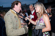 MARK CORNELL; NETTIE MASON;, The Goodwood Ball. In aid of Gt. Ormond St. hospital. Goodwood House. 27 July 2011. <br /> <br />  , -DO NOT ARCHIVE-© Copyright Photograph by Dafydd Jones. 248 Clapham Rd. London SW9 0PZ. Tel 0207 820 0771. www.dafjones.com.