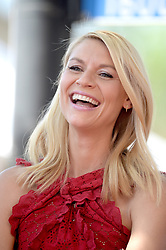 Claire Danes is honored with a Star on the Hollywood Walk of Fame on September 24, 2015 in Los Angeles, CA, USA. Photo by Lionel Hahn/ABACAPRESS.COM  | 517056_005 Los Angeles