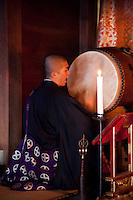 Morning Prayer Drums -  Koyasan is one of the best places to experience a temple stay in Japan.  Ekoin is one of the most suitable temples for this for foreign visitors as the young monks speak English, and due to the high cost, guests can opt out of meals as a way to save on their bill.