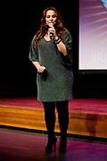 Perspresentatie van het vierde seizoen van The Voice of Holland in het Spant in Bussum.<br /> <br /> Op de foto:  Trijntje Oosterhuis