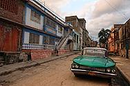 Old Buick in Manzanillo, Granma Province, Cuba.