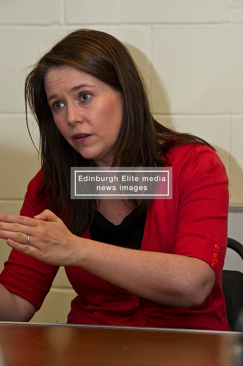 Pictured: Aileen Campbell<br /> <br /> Public Health Minister Aileen Campbell and Cosla health and social care spokesman Peter Johnston visited the Ripple project in Edinburgh today to launch their joint launch public health priorities for Scotland<br /> <br /> Ger Harley | EEm 14 June 2018