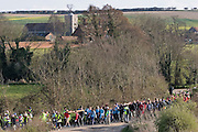 Little Walsingham, Norfolk, England, 06/04/2007..Pilgrims on Good Friday arrive at the Roman Catholic National Shrine of Our Lady. Pilgrims of various Christian denominations travel to Walsingham, one of Britain's oldest and most important centres of pilgrimage, to celebrate Easter.