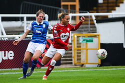 Ebony Salmon of Bristol City Women - Mandatory by-line: Will Cooper/JMP - 18/10/2020 - FOOTBALL - Twerton Park - Bath, England - Bristol City Women v Birmingham City Women - Barclays FA Women's Super League