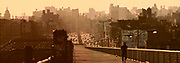 Williamsburg Bridge, 1980's, Manhattan, New York