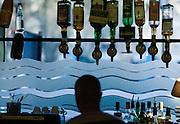 """Le bar de """" Chez Prune"""", rue Beaurepaire, Paris, Paris Ile-de-France, France.<br /> Alcoholic beverage at """"Chez Prune"""", street of Beaurepaire, town of Paris, Paris Ile-de-France region, France."""