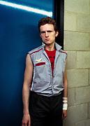 Topper Headon The Clash backstage at the Manchester Apollo 1980