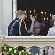 NLD/Den Haag/20100921 - Prinsjesdag 2010, Prinses Laurentien, Prins Constatijn, Prinses maxima Prinses maxima, Prins Willem - Alexander, Koningin Beatrix