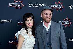 Edinburgh International Film Festival 2019<br /> <br /> Robert The Bruce (World Premiere)<br /> <br /> Pictured: Richard Gray (Director) and his wife<br /> <br /> Aimee Todd | Edinburgh Elite media