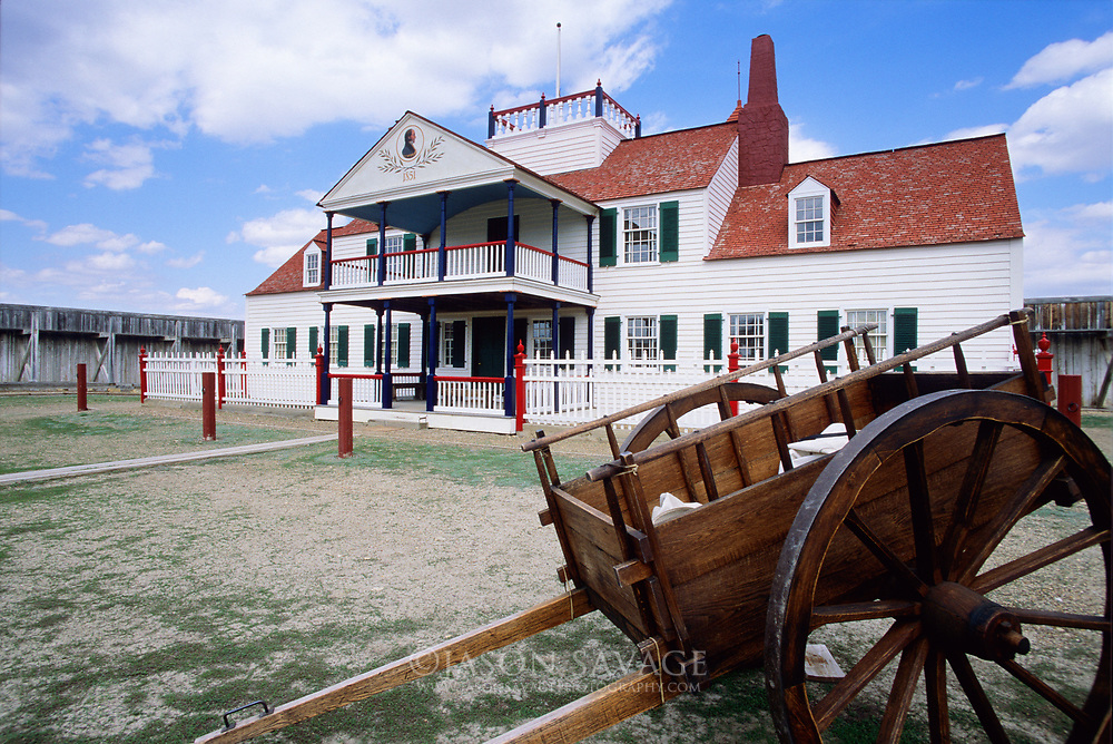 Fort Union Trading Post on the border of Montana & North Dakota.