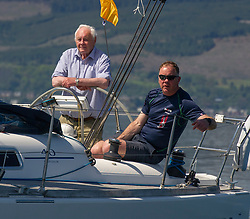 Day 3 Scottish Series, SAILING, Scotland.<br /> <br /> Class 10, Synergie, Dufour 40, GBR5115C<br /> <br /> The Scottish Series, hosted by the Clyde Cruising Club is an annual series of races for sailing yachts held each spring. Normally held in Loch Fyne the event moved to three Clyde locations due to current restrictions. <br /> <br /> Light winds did not deter the racing taking place at East Patch, Inverkip and off Largs over the bank holiday weekend 28-30 May. <br /> <br /> Image Credit : Marc Turner / CCC