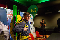 Davo Karnicar during presentation of skiing on mountain K2, on May 11, 2017, in Tus Planet Kranj, Kranj, Slovenia. Photo by Ziga Zupan / Sportida