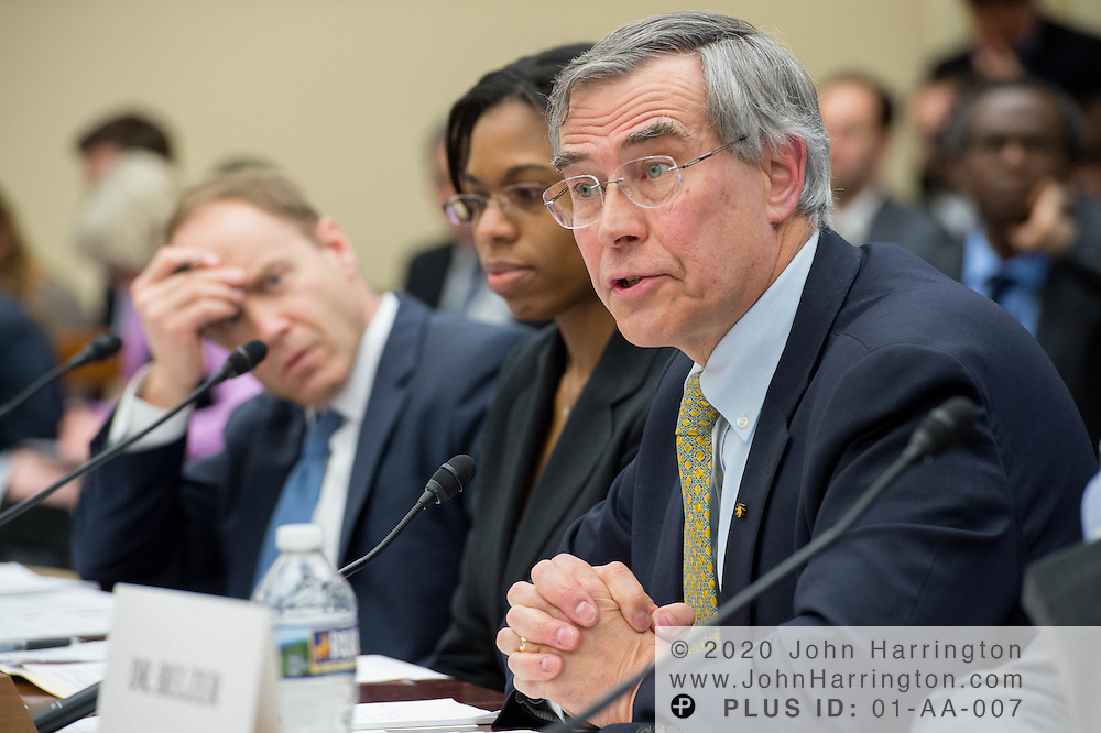 """The Honorable Rush Holt, CEO, American Association for the Advancement of Science testifies before the House Committee on Science, Space, & Technology, entitled """"Make EPA Great Again"""", Tuesday February 7, 2017 on Capitol Hill in Washington, DC."""