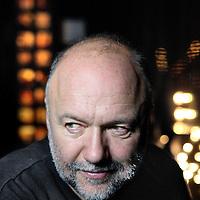Nederland, Amsterdam , 16 december 2014.<br /> De Oekraïense schrijver Andrey Kurkov, schrijver van het boek Ukraine Diaries. Ukrainian writer Andrey Kurkov, writer of the book Ukraine Diaries.