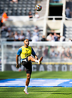 Football - 2021 / 2022 Premier League - Newcastle United vs Southampton - St Jame's Park - Saturday 28th August 2021<br /> <br /> Callum Wilson of Newcastle United is seen during the warm up<br /> <br /> Credit: COLORSPORT/Bruce White