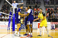 Jakub VESELY / Robin TOSATTO / Theo MORILLON  - 19.12.2014 - Beauvais / Saint Nazaire - 12e journee de Ligue A<br />