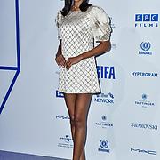 Ella Balinska attends the 22nd British Independent Film Awards at Old Billingsgate on December 01, 2019 in London, England.