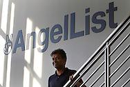 Naval Ravikant, founder and CEO of AngelList, at the AngelList office in San Francisco on Tuesday October 23, 2012. AngelList is a platform that helps connect startups with investors. (Photo by Jakub Mosur/For Boston Globe)