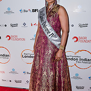 Mrs India UK - Veena Patil, Mrs Classic Universe IV 2019 arrives at London Indian Film Festival world premiere of Anubhav Sinha's 'Article 15' at Picturehouse Central, on 20 June 2019, London , UK.