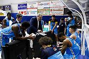 Time Out Meo Sacchetti<br />Bertaland Capo d'Orlando - Vanoli Cremona<br />Campionato di Basket Lega A 2017/2018<br />Capo d'Orlando 14/01/2018<br />Foto Ciamillo-Castoria