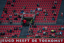 Supporters at an appropriate distance from Corana and behave excellently during eredivisie round 02 between Ajax and RKC at Johan Cruyff Arena on September 20, 2020 in Amsterdam, Netherlands