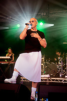 Richard Fairbrass, Right Said Fred singer and anti-vaxxer tests positive for coronavirus after he fell ill land was taken by ambulance to hospital where he needed oxygen ,He is recovering at home after  four nights in hospital this is six months after he said vaccine a scam
