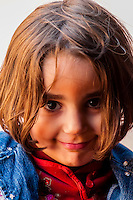 Jordanian girl, Wadi Rum, Arabian Desert, Jordan.