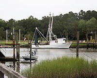 Shrimp Boat on Jeremy Creek McClellanville, South Carolina photo by catherine brown