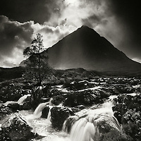 Stob Dearg, the great herdsman of the glen and the river Coupall