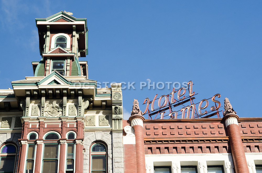 Historic Hotel St. James at the Gaslamp District in San Diego