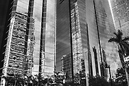 Buildings on Brickell Avenue, in Brickell, Miami. ©CiroCoelho.com. All Rights Reserved.