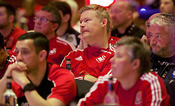NEWPORT, WALES - Sunday, May 22, 2016: Delegates during the Football Association of Wales' National Coaches Conference 2016 at the Celtic Manor Resort. (Pic by David Rawcliffe/Propaganda)