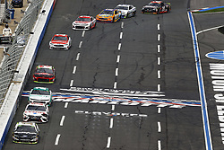 September 30, 2018 - Concord, North Carolina, United States of America - Aric Almirola (10) races during the Bank of America ROVAL 400 at Charlotte Motor Speedway in Concord, North Carolina. (Credit Image: © Chris Owens Asp Inc/ASP via ZUMA Wire)