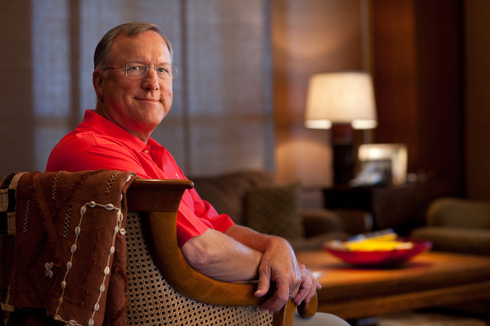 DALLAS, TX - JUNE 4: Bill Montgomery, photographed at his home in Dallas, Texas on June 4, 2009.  (Photograph ©2009 Darren Carroll)