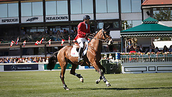 Lamaze Eric, (CAN), Fine Lady 5<br /> BMO Nations Cup<br /> Spruce Meadows Masters - Calgary 2015<br /> © Hippo Foto - Dirk Caremans<br /> 12/09/15