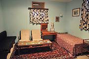 Israel, Negev desert, Kibbutz Sde Boker, Interior of Ben-Gurion Desert Home