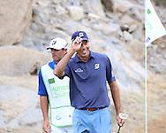"22 JAN 15  Fan favorite Matt Kuchar during Sunday""s Final Round at The Humana Challenge at PGA West, in LaQuinta, California.(photo credit : kenneth e. dennis/kendennisphoto.com)"