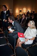 ROBERT KALFF; KATRIN BUCKENMAIER, Spear's Wealth Management Awards. Christie's, Kind St. London. 14 September 2009.