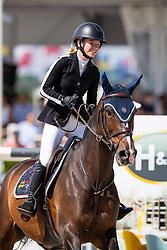 Gochman Sophie, USA, Carola BH<br /> Grand Prix Henders & Hazel <br /> CSI2* Knokke 2019<br /> © Hippo Foto - Dirk Caremans<br /> Gochman Sophie, USA, Carola BH