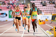Diribe Welteji (ETH) wins the Gold Medal in 800 Metres Women during the IAAF World U20 Championships 2018 at Tampere in Finland, Day 3, on July 12, 2018 - Photo Julien Crosnier / KMSP / ProSportsImages / DPPI