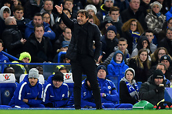 November 29, 2017 - London, England, United Kingdom - Chelsea Manager Antonio Conte during the Premier League match between Chelsea and Swansea City  at Stamford Bridge, London, England on 29 Nov 2017. (Credit Image: © Kieran Galvin/NurPhoto via ZUMA Press)