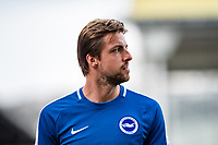 LONDON, ENGLAND - APRIL 14: (26) GKTim Krul of Brighton and Hove Albion during the Premier League match between Crystal Palace and Brighton and Hove Albion at Selhurst Park on April 14, 2018 in London, England. (Photo by MB Media/Getty Images)