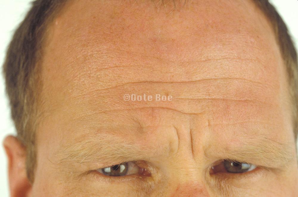 Extreme close up of man?s eyes