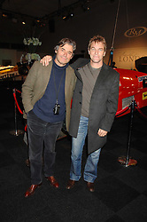 Left to right, racing drivers ALAIN DE CADENET and STEFAN JOHANSSON at a preview of a forthcoming sale of cars from the Bernie Ecclestone Car Collection held at Battersea Evolution, Battersea Park, London SW11 on 30th October 2007.<br /><br />NON EXCLUSIVE - WORLD RIGHTS