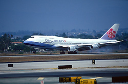 China Airliner Taking Off
