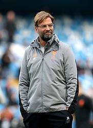 Liverpool manager Jurgen Klopp before the UEFA Champions League, Quarter Final at the Etihad Stadium, Manchester.