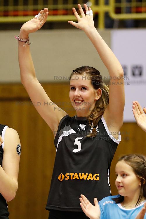 20161106 DUI: Bundesliga, Ladies in Black Aachen - MTV Allianz Stuttgart: Aachen<br />Tessa Polder (5) of Ladies in Black Aachen<br />©2016-FotoHoogendoorn.nl / Pim Waslander