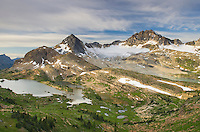Russell Peak and Limestone Lakes Basin, Height-of-the-Rockies Provincial Park British Columbia Canada